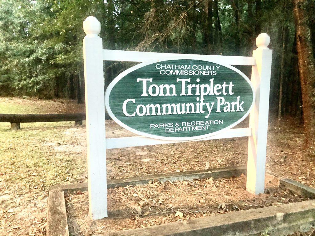 Tom Triplett Sign
