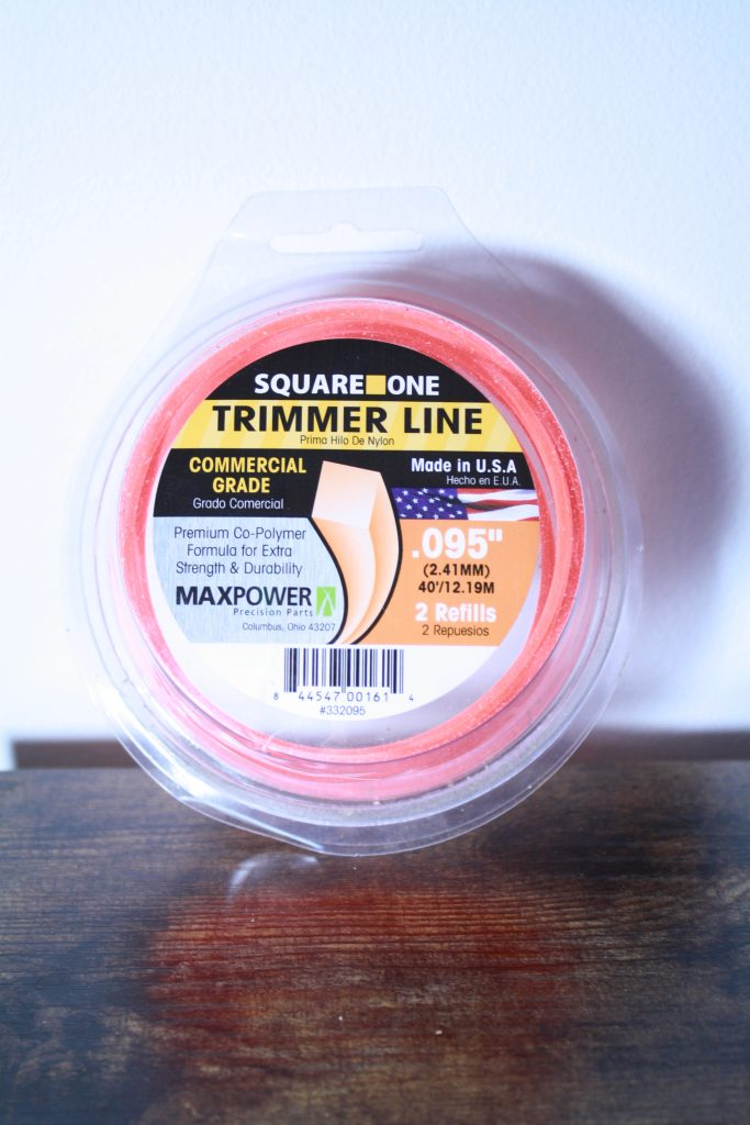 roll of trimmer line