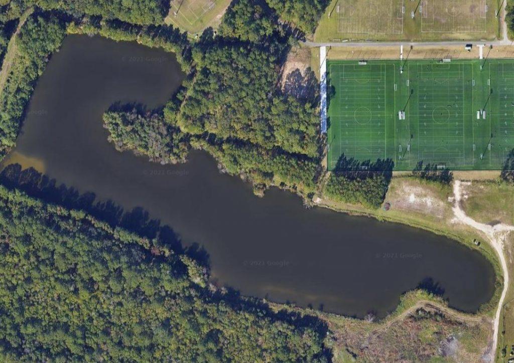 Aerial View Frank O Williamson Lake