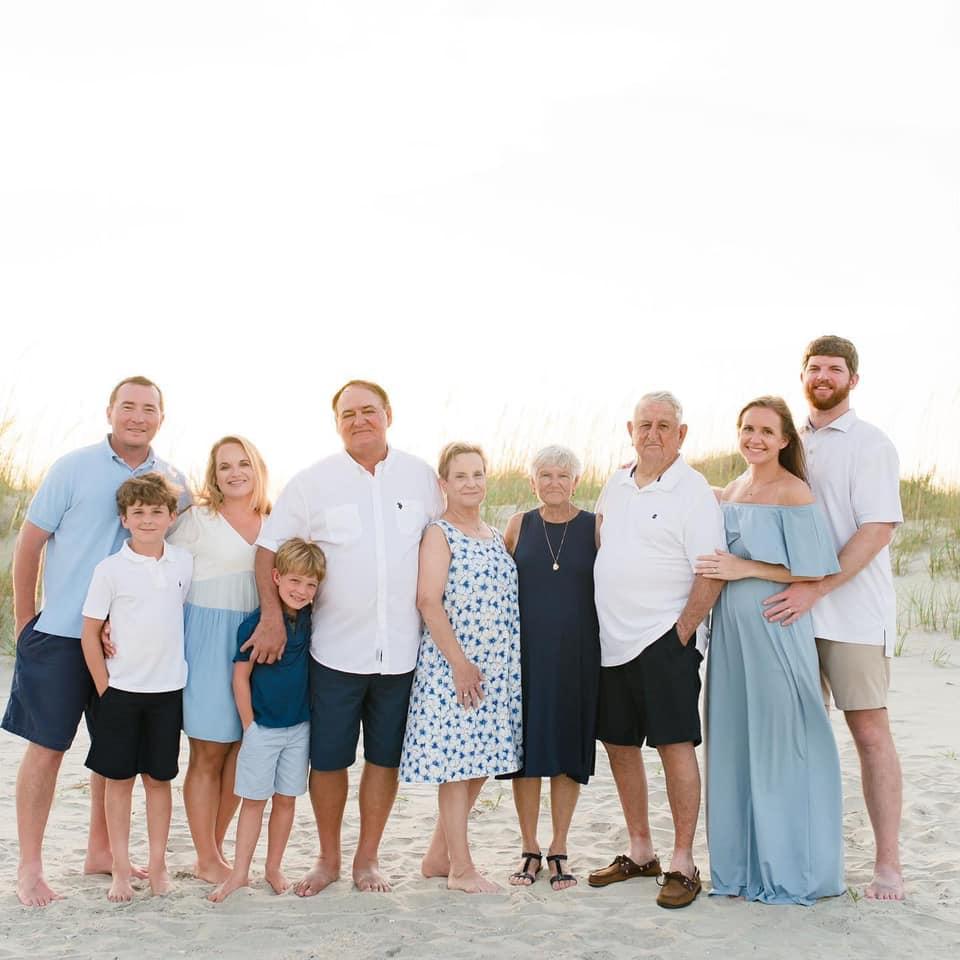 Angler Pat's Crawford's Family